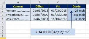 Excel Function - DATEDIF_2